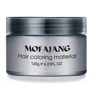 Pomade balmumu Big iskelet saçının geri saç şekillendirme Mofajang Pomade Güçlü tarzı için Yüksek Kaliteli Mofajang saç balmumu