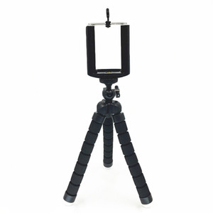 Tripé Compacto universal Suporte Flexível Polvo Telefone Câmera Selfie Vara Tripé Para Smartphone / Câmera Digital