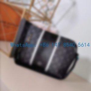 M43410 Top The new 2020 fashion versatile trend large capacity postman bag cross shoulder bag men's leisure briefcase