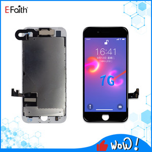 EFaith Tianma Quality Full LCD Display For iPhone 7G Touch Screen Digitizer Assembly Good Repair Replacements Front Camera+Back Plate
