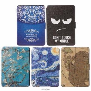 Tablets & e-Books Case 1Pc Slim Faux Leather Folio Flip Case Protective Shell Skin Cover Auto Sleep Wake For Amazon Kindle Paperwhite 1 2 3