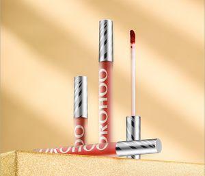 new makeup wholesale Velvet lip glaze matte mist lip gloss lasting moisturizing easy to stain non-cup to show white lip glaze