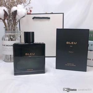 Top klassisch elegant und frisch Männer Parfüm Cologne 100 ml eignet sich für BLEU männliche Parfüm anhaltenden Duft Prämie freies Verschiffen
