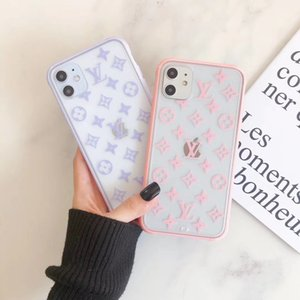 Luxury Designer Phone pour iPhone X XR XS Max TPU + PC d'impression 3D Téléphone transparent pour iPhone 7 8 Plus A15