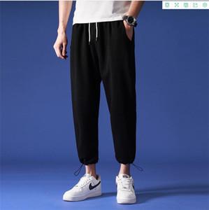 Mens Lentarn 5XL Capris allentato progettista dei pantaloni Sport Plus Size Via Stlye Tennaagers Coulisse Pant Maschi Moda Abbigliamento casual