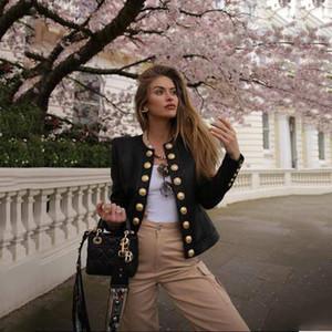Womens Designer Veste courte filles luxe Manteau Casual Youth Solide Couleur Marque Breasted Vêtements pour femmes simples vestes de mode 2020 vente chaude