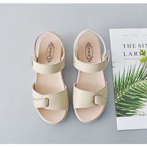 0722hzd209 новые Популярные на открытом воздухе прогулочные плоские тапочки мужские сандалии женские летние прохладные пляжные сандалии с коробкой