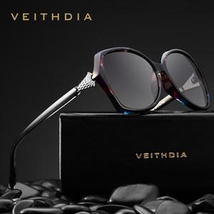 Femmes Retro lunettes cristal polarisants Ladies Marque Lunettes de soleil Lunettes pour les femmes Femme V3027