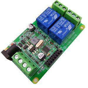 Modbus RTU 2-Wege-WIFI-Relais LORA Wireless Relay 12V 24V Mit WIFI-Modul