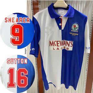 1994 Rovers 1995 Maglia Blackburn retrò calcio 94 95 Blackburn Alan Shearer Sutton Hendry SHERWOOD BERG epoca maglia da calcio classico