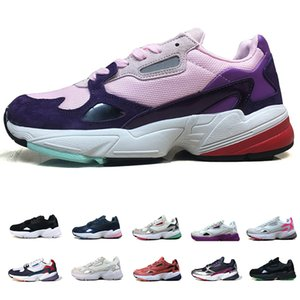 adidas falcon Mode Luxus Designer 2019 Falcon W Laufschuhe für Frauen Männer Designer Sport Turnschuhe Läufer Casual Traners Luxus Schuhe Größe 36-45