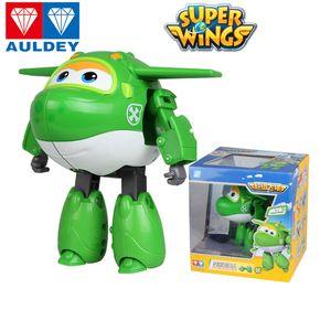 Auldey Süper Wings Boys Robot Swampy Poppa Mira Neo Chase Todd Eylem Animasyon Çocuklar Tasarımcı Marka Oyuncak Robotlar Oyuncak ABS Malzeme 04 Şekil