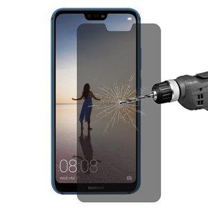 Enkay Sombrero-Prince 0.26mm 9H 2.5D Privacidad antideslumbrante de Cine de vidrio templado para Huawei P20 Lite