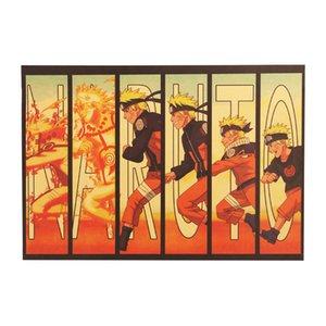애니메이션 나루토 크래프트 향수 홈 클래식 벽 스티커 종이 빈티지 장식 포스터 Rnxwp