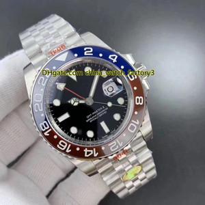 (كال) ذو الجودة الفائقة.3285 حركة N مصنع 904 Steel Basel World 40mmt 126710