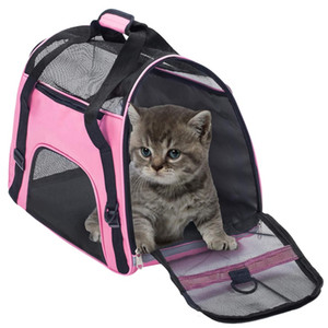 Pet Carrier Bag Waterproof Airline Approved Portable Outdoor Travel Bags for Small Puppy Comfort Dogs Cats Cage Crate Bo