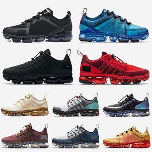 nike air vapormax 2019 utility moda lüks tasarımcı erkek koşu ayakkabıları çalıştırmak programı üçlü siyah cny kırmızı alüminyum mavi nik eğitmenler bayan spor sneakers tns