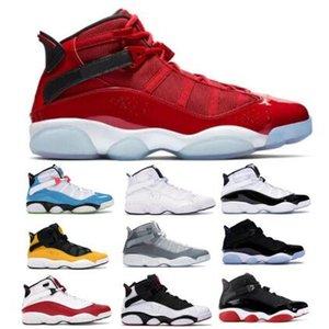 Jumpman 6 6s Ringe Basketball-Schuhe 2020 Six Gym Red Taxi Concord Space Jam South Beach Confetti Momente für Mens-Frauen-Turnschuhe