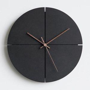Orologio da parete Nordic Minimalista creativo Soggiorno di personalità della famiglia Orologi silenzioso Orologi da parete Home Decor