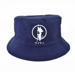 Dragon Ball Z Goku bucket hats For Men Women Anime Cotton Adjustable fisherman cap summer harajuku panama fishing hat