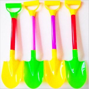 4pcs Beach Toys Large Beach Shovel Play Sand Shovel Snow Tools Kids Summer Holiday Dig Sand Shovel Soil Water Toys