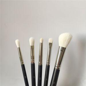 5 pcs pinceau de maquillage Set - 221/219/239/217/168 doux de chèvre Contour cheveux ombres à paupières fard à joues Blending pinceaux de maquillage beauté Set