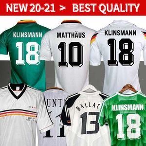 World cup 1990 1994 1988 Germany retro soccer jerseys Littbarski BALLACK KLINSMANN Matthias 1998 2014 shirts KALKBRENNER JERSEY 1996 2004