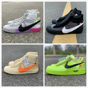 Serena Williams X NIKE Blazers Mid Rainbow All Hallows Eve Men Running Shoes Blazer Mid Studio Grim Reepers Womens Trainers Designer 10X Sneakers