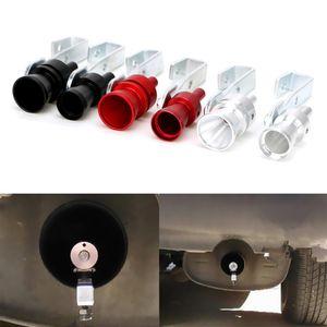Universal Car Turbo marmitta tubo di scarico auto Turbo fischio sano veicolo Rimontare Sound Device Simulator