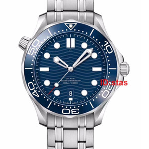 탑 고무 스트랩 로즈 골드 디자이너 시계 스테인레스 스틸 남성 자동 고급 남성 손목 시계 전문 다이버 300M 마스터 나토 시계