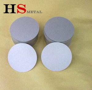 титана спекаются металлическое волокно чувствовал фильтр с высоким качеством Высокое качество 10um титана пористых спеченных пластин