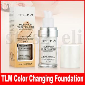 TLM لا تشوبه شائبة تغيير لون 30ML مؤسسة السائل لفترة طويلة وارتداء ماكياج تغيير بشرتك لهجة بواسطة مزج