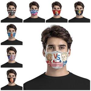 Cumhurbaşkanlığı Kampanya Biden Kampanyası Trump Kampanya Maske kulak Tipi Rüzgar Shield PM2.5 filtre T3I5860 içine eklenen edilebilir Maskesi