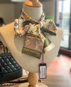 2020 мода топ роскошная сумка, оголовье, запястье бренд ленты, для женщин, чтобы создать уникальную личность шарф 120*8 см T02