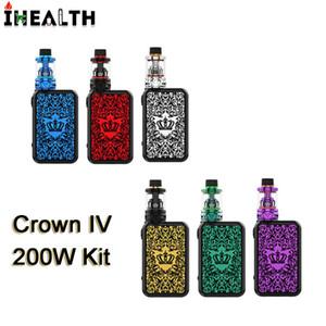 Uwell Crown IV 4 200 Вт Комплект с 5 мл Crown IV Бак Распылитель Двойной SS904L UN1 UN2 Головка катушек