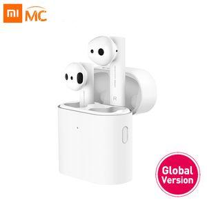 Xiaomi Airdots Pro 2 Mi Gerçek Kablosuz Kulaklık Hava 2 TWS Kulaklık gürültü LHDC dokunun Kontrol İkili MIC iptal