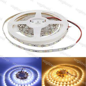 LED-Streifen schmale Seite 5630 SMD flexible LED-Streifen-Licht 60LED / M DC12V IP20 Nicht wasserdichte Bandlampe String-Licht DHL