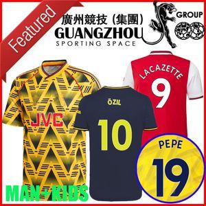 arsen Bruised Banana retrò maglia di calcio 2019 2020 Pre-Match Bergkamp HENRY 19 20 casa lontano terzo mailiot de foot Survêtement kit Men + Bambini