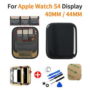 Yapışkan + TPU Kapak + Araçları ile Apple Ürünü Serisi 4 LCD Dokunmatik Ekran Sayısallaştırıcı Meclisi için LTE / GPS İçin İzle Serisi 4 LCD,