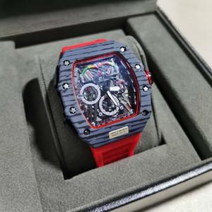 2020 Nuevo Mejor alta calidad de lujo para hombre reloj cronógrafo de cuarzo reloj de pulsera para hombre Tag correa de caucho deporte de los hombres relojes de pulsera hombre a hombre