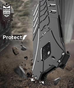 Protección de metal a prueba de golpes de grado militar Batman de nuevo caso de Shell de aluminio teléfono para el iPhone 11 Pro XS Max 7 6s Samsung S10 Plus Nota 10