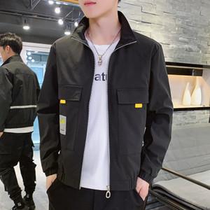 Topstoney CP Konng Gonng Ceket erkek 20ss Sonbahar Yeni Kore Gençlik Öğrenci Moda Marka Ceket İnce ve Yakışıklı Casual Erkek Giyim