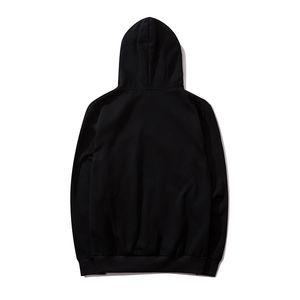 Unisex para hombre de gran tamaño con capucha diseñador de moda Marca Jumper capucha de lujo del estilo simple 3 colores básicos streetwear B102249Z informal