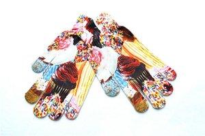 3D Animal Print Inverno Quente Tela de Toque Luvas De Pulso Mulheres Luvas Luvas de Natal Dedo Feminino Mitten Completa Presente Acessórios H920Q