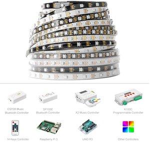 DC5v WS2812B ip30 ip65 ip67 5m remote rgb led strip light