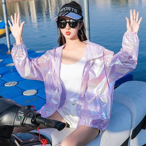 2020 New Women Outdoor Sun Protection Clothing Quick-Drying Lightweight Breathable suit Waterproof Anti-Ultraviolet Sun Protection Jacket