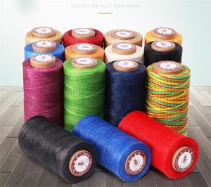 Haute Qualité Durable 240 Mètres 0,8mm 150D cuir cirée fil du cordon pour le bricolage Artisanat Outil Brochage main fil