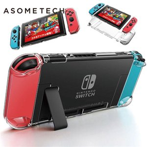 Crystal Transparent Case Protecive Case For Nintendo Switch NS NX Console Detachable PC Hard Clear Back Cover