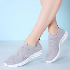 Hot Selling Women's Spring Single Shoes Mesh Shoes Rubber Sponge Soles Sneakers -B5