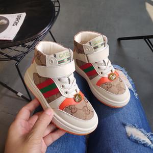 2020 homens e mulheres Crianças skate criança Meninas Calçados Calçados do outono crianças em Will suave inferior Of Children Ventilação menina calçados casuais